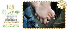 Vamos #DeLaMano15N hacia el Día de las Enfermedades Neuromusculares ▸ http://www.enfermedadesneuromusculares.org/
