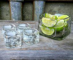 Patron Shot Glass Set with Lime Serving Dish Tequila Glasses Patron Bottle Crafts, Alcohol Bottle Crafts, Mini Alcohol Bottles, Tequila Bottles, Mini Bottles, Glass Bottles, Patron Bottles, Patron Tequila, Bottle Shoot