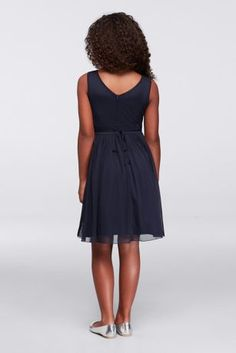 Little ladies will feel so special in this pretty pleated tulle dress. The illusion neckline and jeweled belt are sweetly glamorous details that she'll love to wear.   By Speechless  Polyester  Back zipper; fully lined  Hand wash  Imported  Special Value! Final price listed, no additional discounts apply.