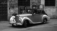 1953 Bentley in San Gimignano