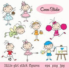 My Grafico: Girl Stick Figures Clipart Diy Embroidery, Machine Embroidery Designs, Embroidery Patterns, Doodle Drawings, Doodle Art, Stick Figure Drawing, Japanese Drawings, Stick Art, Doodle Lettering