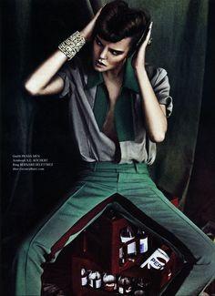 Josefien Rodermans for Tush magazine by Boe Marion