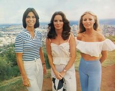 TV Series Charlies Angels 1976 Series Jaclyn Smith Cheryl Ladd Kate Jackson Image 3 Do It Yourself H Kate Jackson, Rachael Taylor, Cheryl Ladd, Minka Kelly, Jaclyn Smith, Elizabeth Banks, Destiny's Child, Good Morning Angel, Angel Outfit