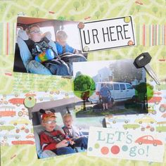 Layout: Road Trippin' - UR Here