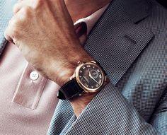 Chopard - L.U.C Quattro on the wrist.  #Chopard #luxury #watches