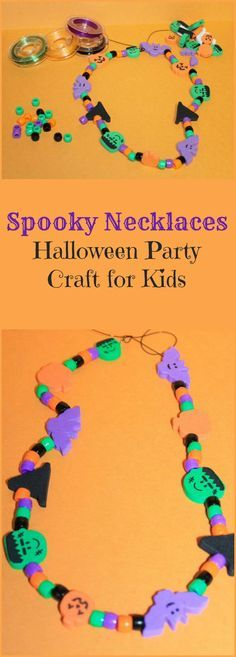 This is such a super simple and fun Halloween party craft that's perfect for kids of just about all ages! Check it out!