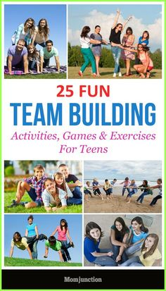 Team building activities for teens help develop relations, trust, solve life problems & learn to work together. Read more for activities, games & exercises.