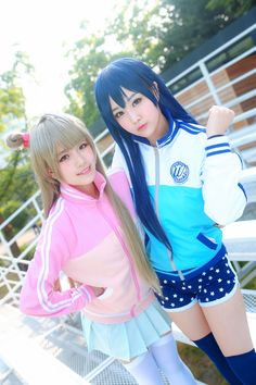Love Live Umi Sonoda and Kotori Minami Cosplay Photo - WorldCosplay
