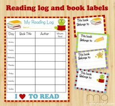 Minecraft Reading Logs And Books  Reading Logs Homeschool And