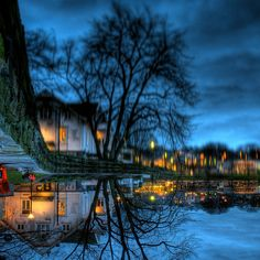 Upside down ~ Brelavatnet, Stavanger