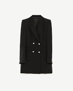 Image 8 of DOUBLE-BREASTED JACKET WITH BUTTON FASTENING from Zara
