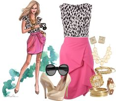 """""""socialite swagger"""" by vanessashark on Polyvore"""