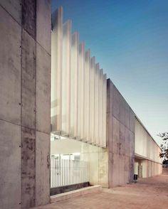#architecture_hunter  Esteve Albert High School, by Studio Nao and José Maria Gutiérrez Photographer: José Hevia