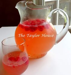 Raspberry Moscato Punch Recipe