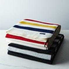 Revival Stripe Wool Throw on Food52