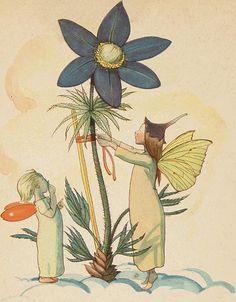Else Wenz-Viëtor: 'In de bloemenhemel', 1944 (In Flower Heaven)