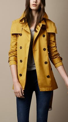 classic trench for spring