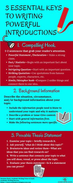 How to Write a Strong Introduction to a Research Paper - Academic Writing Success Academic Essay Writing, Custom Essay Writing Service, Paper Writing Service, Essay Writing Tips, Essay Writer, Persuasive Essays, English Writing Skills, Writing Services, Research Writing