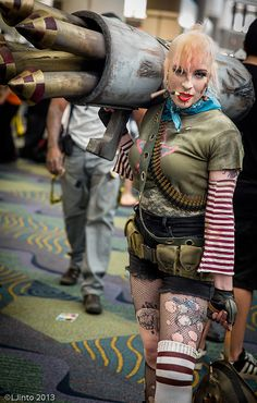 Tank Girl | Megacon 2013 Day 2 Heroes of Cosplay! <3 Jessica and Holly!