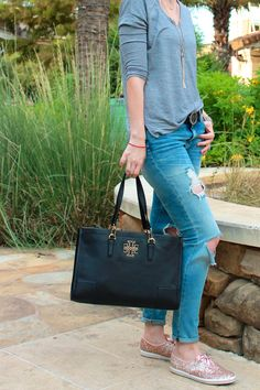 Love the Britten tote from Tory Burch.