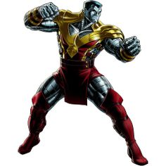 Marvel Avengers Alliance: Colossus in Phoenix Force uniform