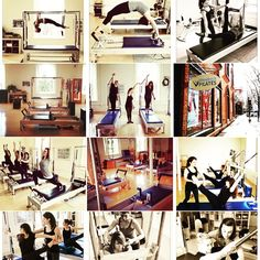 Some classical pilates scenes from inside Rhinebeck Pilates! These are photos of our amazing teachers and students!