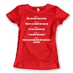 New Kids on the Block NKOTB Funny 80s Band Music Womens Shirt X-Large Red ...