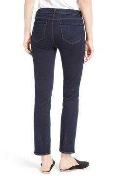 Main Image - L'AGENCE Coco Straight Leg Jeans (Authentique)