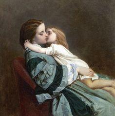 Французский художник Auguste Toulmouche (1829-1890)