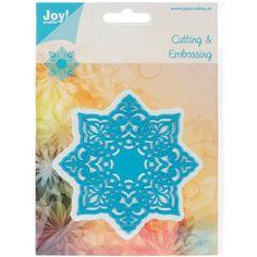 Joy! Crafts Cut & Emboss Die-8 Point Design