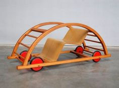 Swing Car (Designed by Hans Brockhage under supervision of Mart Stam in Germany 1950)