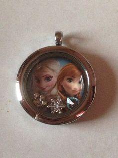 Disney's Frozen Floating Charm Locket--Elsa And Anna by KeepCalmAndBeadIt on Etsy https://www.etsy.com/listing/213904831/disneys-frozen-floating-charm-locket