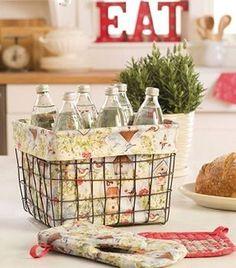 Susan Winget Basket Liner
