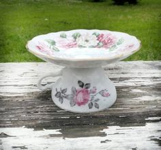Teacup Cake Stand by TristellaOrganics on Etsy