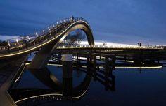Awsm bridge in Purmerend (Netherlands) STUNNING