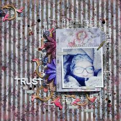 Sanna Lippert   Canvas Corp Brands (Gypsy Moments papers, Tattered Angels Mists) & Wycinanka chipboard + a The Crafter´s Workshop Stencil