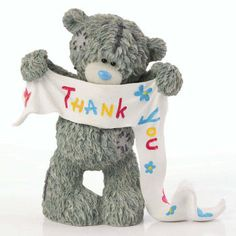 Thank You Card Sayings, Thank You Cards, Love Bear, Tatty Teddy, Collectible Figurines, Craft Fairs, Cute Gifts, Dinosaur Stuffed Animal, Thankful