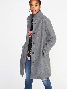 Mens Kensington Eastside Holwood Fleece Jacket Funnel Neck Zip Up Knit Cardigan