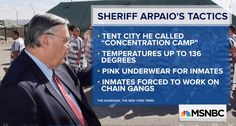 Arpaio AKA Racist Bigot 86 years old wants to be a Senator, and BROKE the laws.
