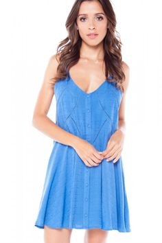 Shop our Make It Count Blue Button Down Dress & so much more at HERBOUTIQUE.com! Receive 23% off your first purchase when signing up for our newsletter!