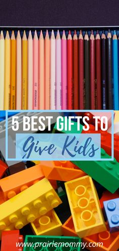 Looking for a great gift idea that both kids are parents will love? These 5 ideas are perfect for birthday parties, holidays, or just because! #gifts #giftideas #giftsforkids 5 Gifts, Easy Gifts, Great Gifts, Gifts For Kids, Parents, Birthday Parties, Holidays, Love, Ideas