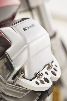 Moto Guzzi Cafe Racer by Doc Jensen - Deatil   www.doc-jensen.de