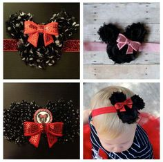 Disney headbands / bows