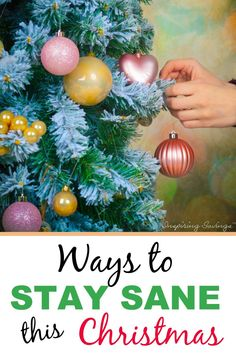 The holiday season can be so hectic. Use these simple stress management tricks reduce your anxiety and manage holiday stress so you stay sane at Christmastime.
