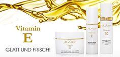 Pflegelinien Vitamin E, Anti Aging, Catio, Bracelets, Gold, Jewelry, Smooth, Fresh, Nursing Care