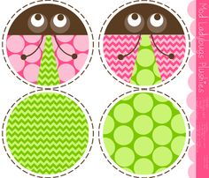 MOD Ladybug Plushies fabric by natitys on Spoonflower - custom fabric