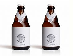 Japanese beer bottles Kagua