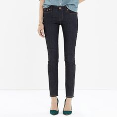 Alley Straight Jean in Raw Wash Worn it once! It is perfect new condition. Madewell Pants Straight Leg