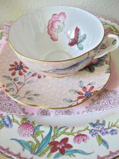 Teacup & Saucer Set ~ Pretty