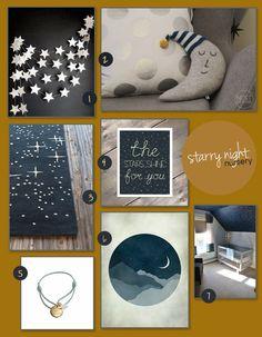 A Starry Night Nursery - Corner Stork Baby Blog